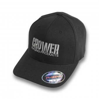 "CAP BLACK ""SUMMER"" PIQUE W/CROWER PERFORMANCE PRODUCTS LOGO"