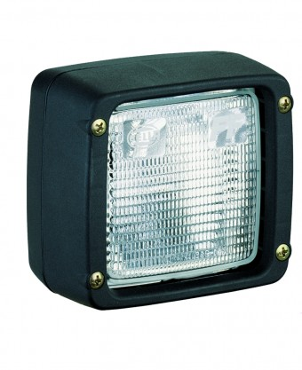Ultra Beam Halogen Flush Mount Work Lamp (CR) 24V