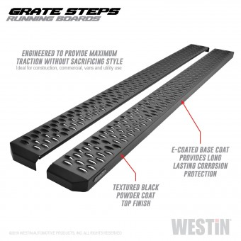 Grate Steps Running Boards
