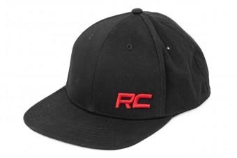 Rough Country Flat Bill Hat - Black