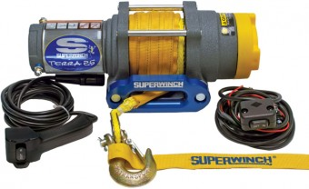 WINCH-TERRA 25 SR, SYNTHETIC ROPE