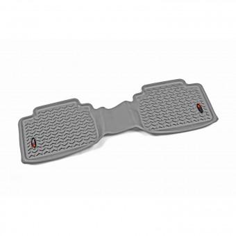 Floor Liner, Rear, Gray; 05-16 Toyota Tacoma