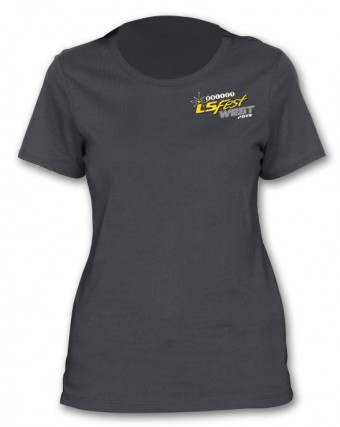 Holley LTS 2019 LSWEST LADIES CHAMP TEE - CHAR