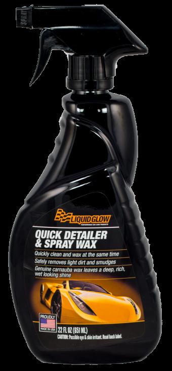 Quick Detailer & Spray Wax with genuine carnauba wax