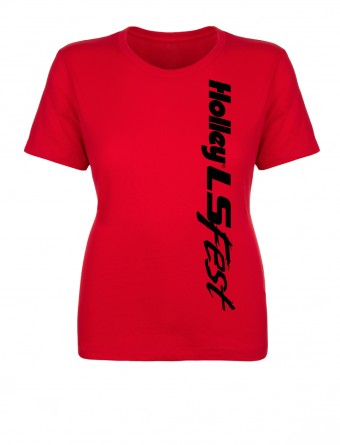 Holley LSFEST LADIES CREW BLOCK PARTY - RED