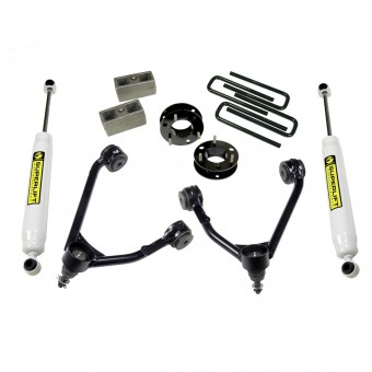 LIFT KIT GM 1500 14-15 3.5'' ALUMINUM UPPER ARM 2WD