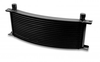 -6M 13 ROW WIDE CURVED COOLER BLACK