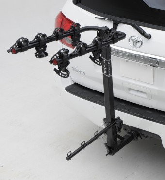 Road Runner 4, 2'' ext. Hitch Rack carries 4 bikes