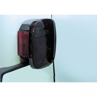 Tail Light Covers, Smoke; 76-06 Jeep CJ/Wrangler YJ/TJ