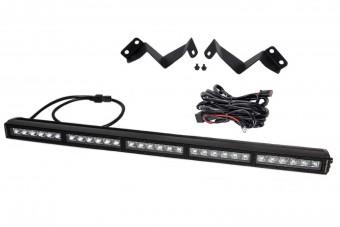Light bar featuring advanced TIR optics for high efficiency and focus.