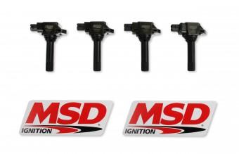 MSD Coils,15-19Subar/Scion/Toyta 2.0L 4PKBlk