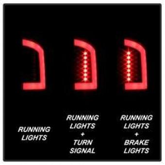 Version 3 Light Bar LED Tail Light - Black