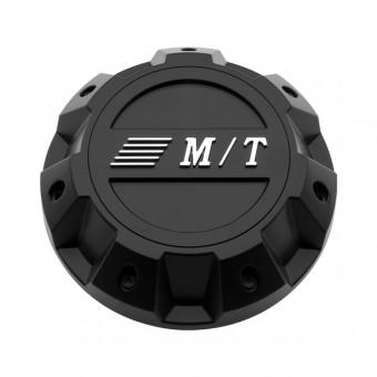 Sidebiter II Center Caps 8X6.50 Bolt On Closed 165MM Flat Black Mickey Thompson