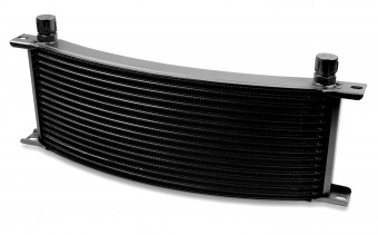 -8M 10 ROW NARROW CURVED COOLER BLACK