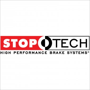 StopTech Select Sport Drilled and Slotted Brake Rotor; Front Left