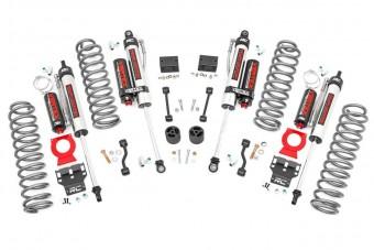 2.5in Jeep Suspension Lift Kit | Springs & Vertex Shocks (18-21 Wrangler JL Rubicon)