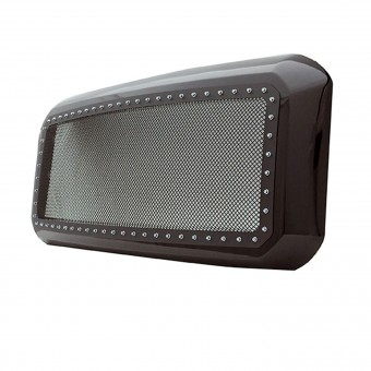 Evolution Stainless Steel Wire Mesh Packaged Grille Black