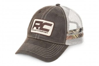 Rough Country Mesh Hat - Camo