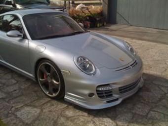 Carbon Fiber Hood Grill Duct 05-09 Porsche 997 Carrera   Turbo Agency Power