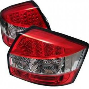 LED Tail Lights - Red Clear