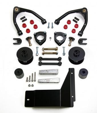 2007-14 GM TAHOE/SUB/YUKON XL 4'' F with 3.0'' R SST Lift Kit-Cast Steel UCAs