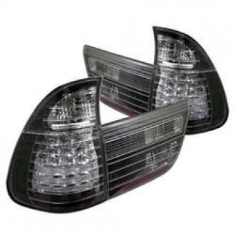 4PCS LED Tail Lights - Black
