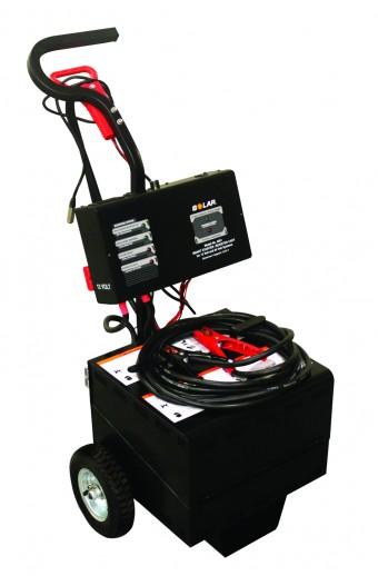 Wheeled Commercial Jump Starter, 12/24V (Battery Not Included)
