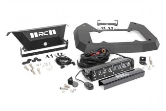 Jeep Spare Tire Delete Kit w/ 8in Chrome Series LED (18-21 JL)