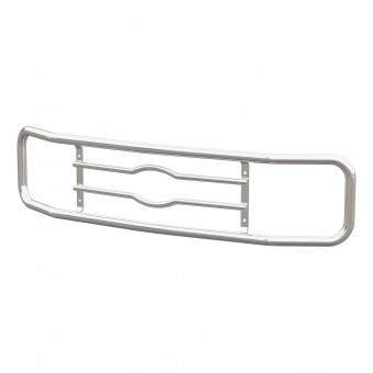 """Chrome Steel 2"""" Tubular Grille Guard Ring Assembly"""