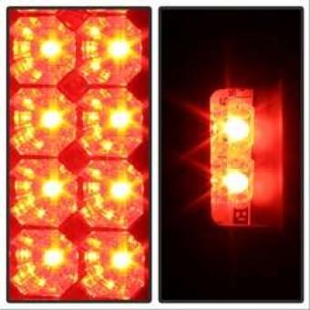 LED Tail Lights - Black Smoke
