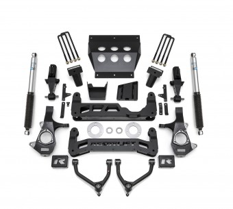 2014-2018 7'' Lift Kit with UCAs for Stamped Steel OE UCA, Bilstein Shocks