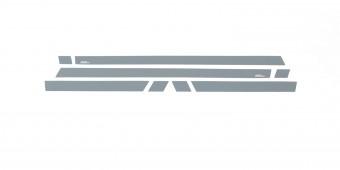 Black Platinum Rocker Panel