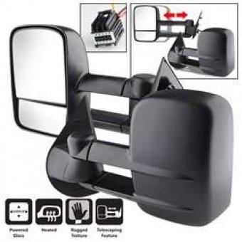Manual Extendable - POWER Heated Adjust Mirror.