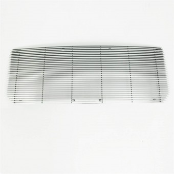 Horizontal Billet Cutout Grille Chrome