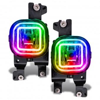 LED Fog Light Halo Kit, ColorSHIFT - No Controller